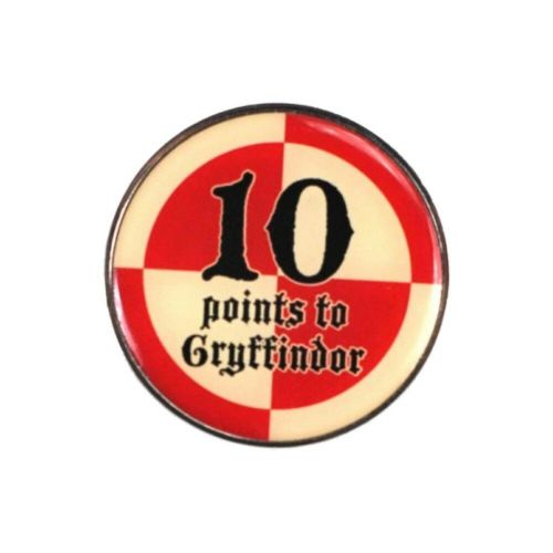 Harry Potter 10 Points to Gryffindor Quidditch Pin Badge